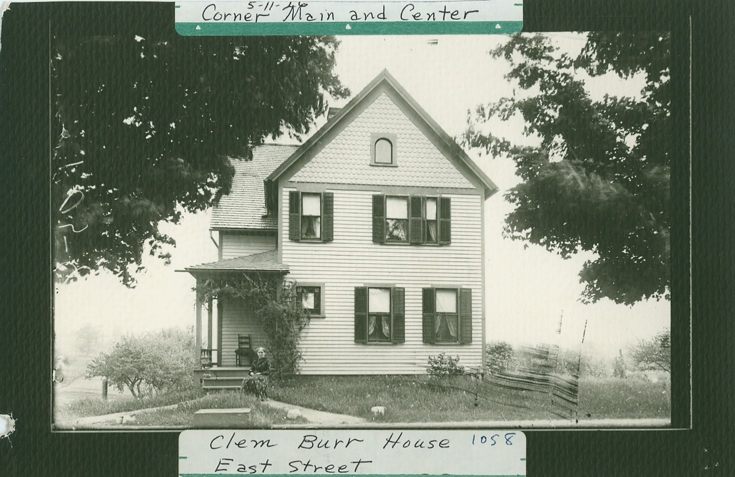 Clement R. and Mary Burr - East St.
