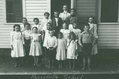 Howes Brother photograph of Russellville Rd. school