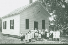 Howes Brothers photograph of Russellville Rd. school