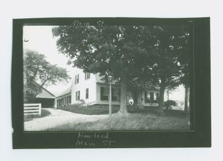Willard F. & Dorothy P. Howland-Main St.
