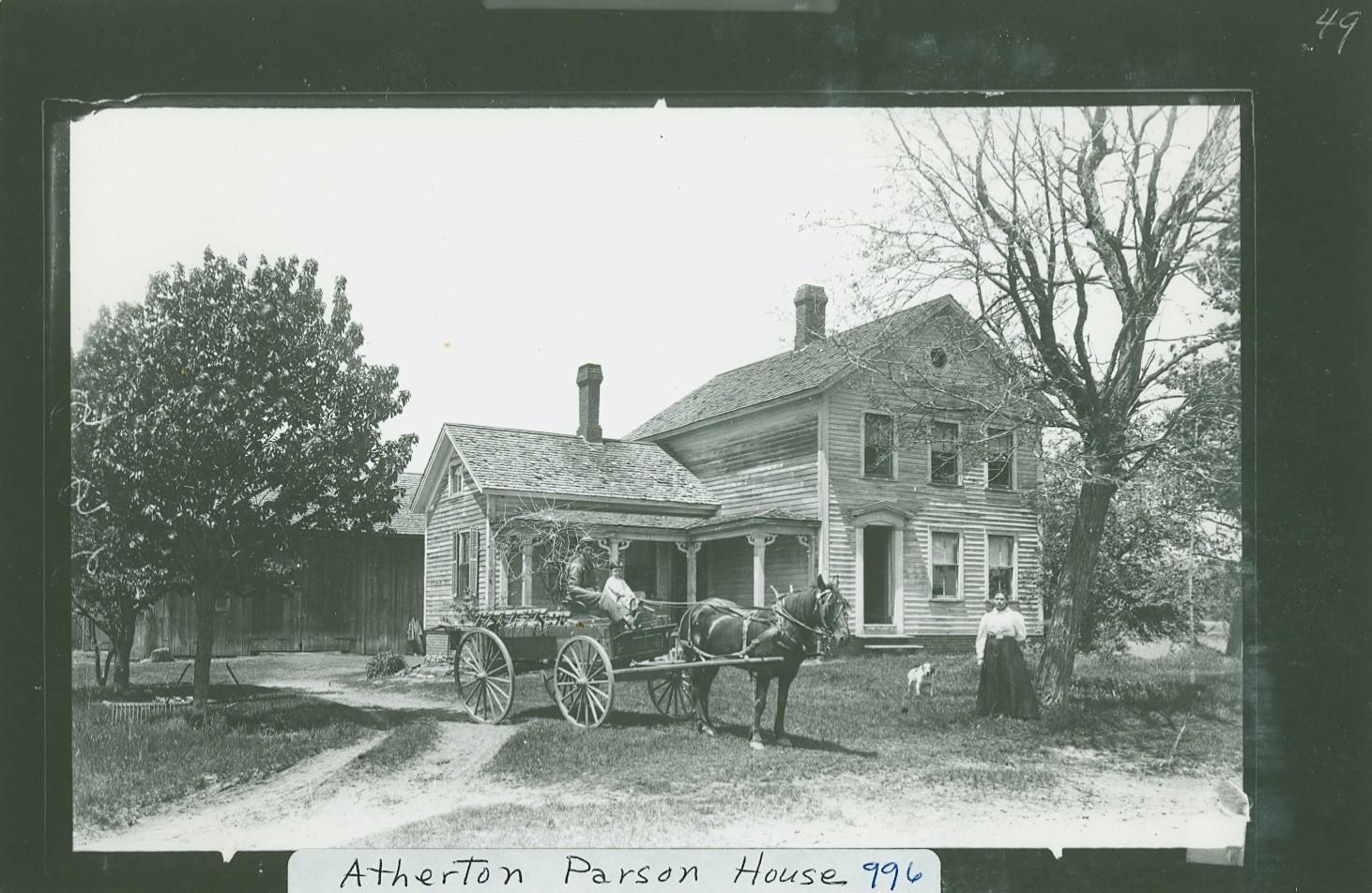 Atherton Parson House