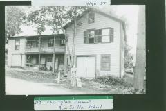 Otis Clapp's Wagon Shop later Gramp (Chas?) Tyler's tenament house, Maple Street