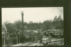 Abner Peck and Henry Healy's Sawmill, Crooked Ledge or Maple St